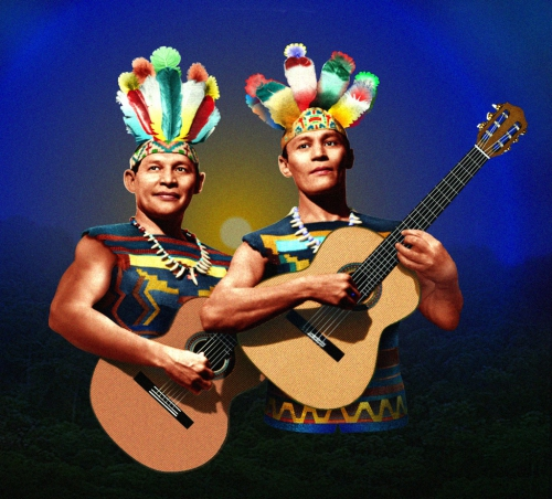 blue angel,los indios tabajaras,guitare,brésil